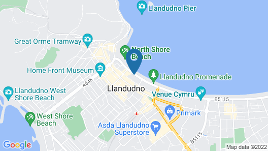 Somerset Hotel Map