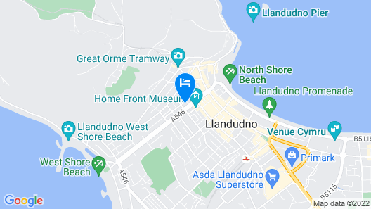 Dunoon Hotel Map