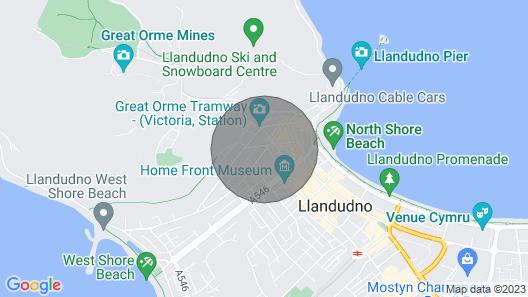 Garth House Apartment 2 Map