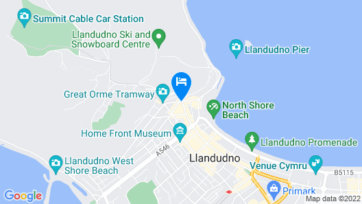 The Empire Hotel & Spa Map