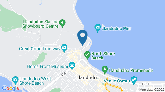 Headlands Hotel Map