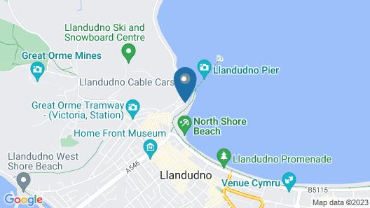 Grand Hotel Llandudno Map
