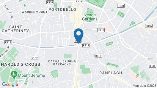 Portobello Hotel Map