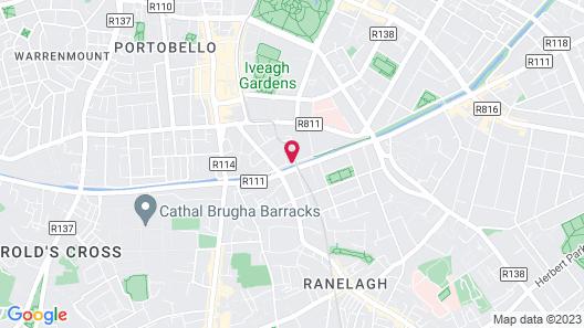 Hilton Dublin Map