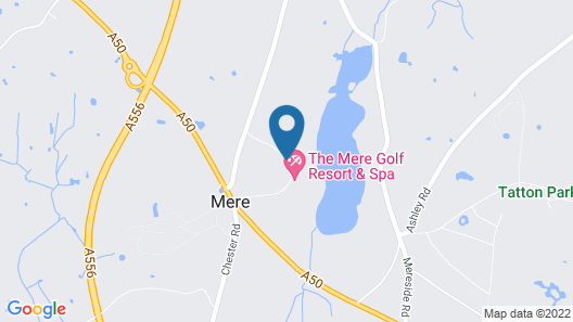 The Mere Golf Resort & Spa Map