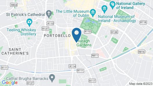 Harrington Hall Map