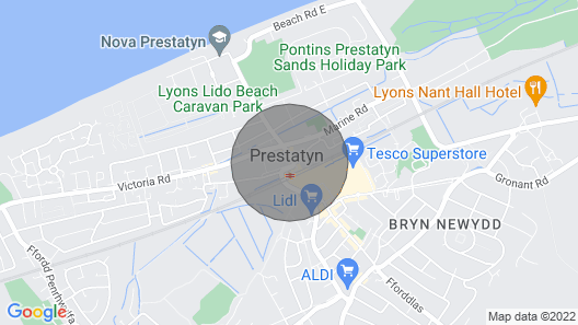 Vale View Apartment, Prestatyn Map