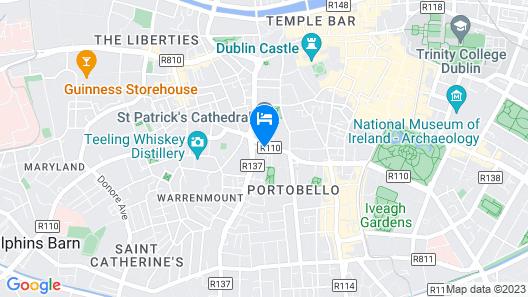 Maldron Hotel Kevin Street Map
