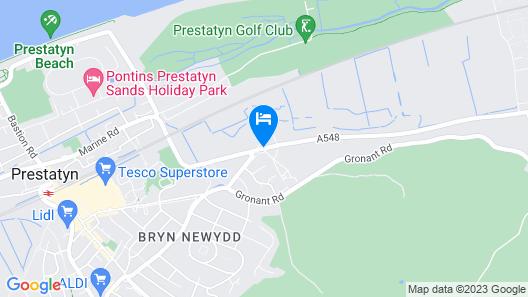 Lyons Nant Hall Hotel Map