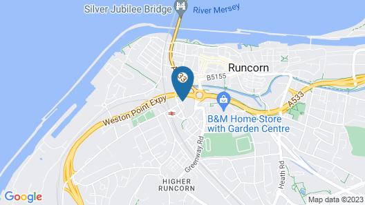 Campanile Runcorn Map
