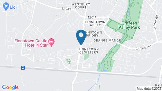 Finnstown Castle Hotel Map