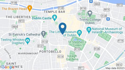 Marlin Hotel Stephens Green Map