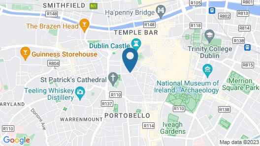 Radisson Blu Royal Hotel, Dublin Map
