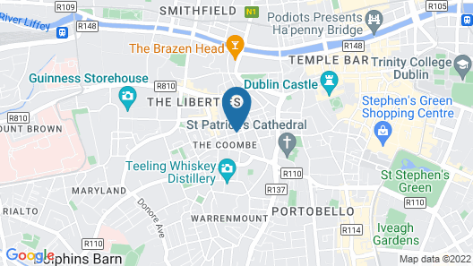 Two Bedroom City Centre Apartment Map