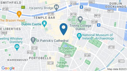 Grafton Street Studios Map