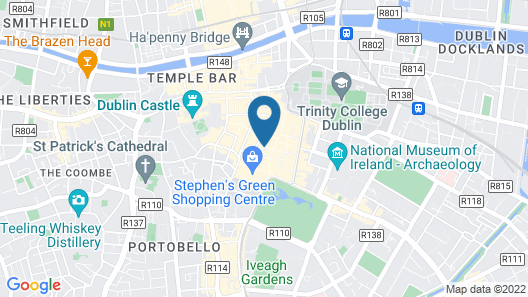 The Westbury Hotel Map