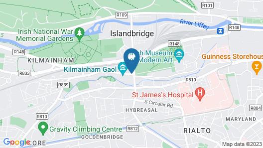 Hilton Dublin Kilmainham Map