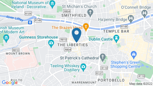 St James Apartments Map