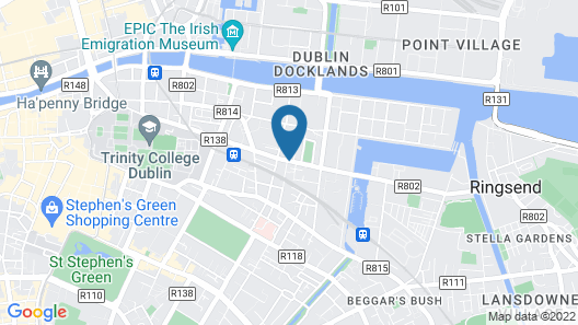 Pearse Street Suites Map
