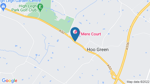 Mere Court Hotel Map