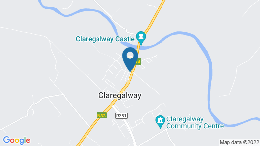 Claregalway Hotel Map