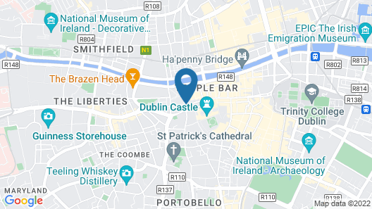 Kinlay House Hostel  Map