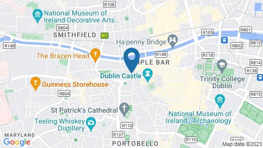 Harding Hotel Map