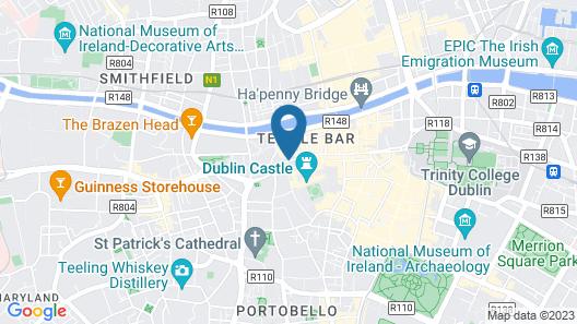 Hard Rock Hotel Dublin Map