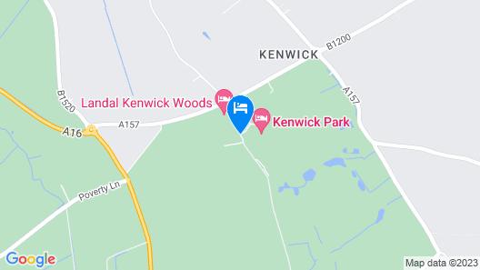 Best Western Kenwick Park Hotel Map