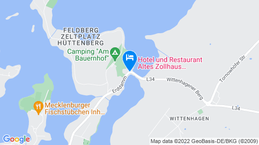Hotel Altes Zollhaus Map