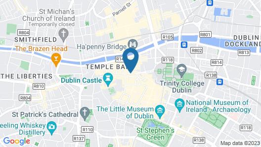 Dublin Citi Hotel Map