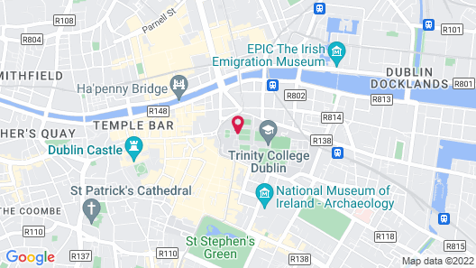 Trinity College Campus Accommodation Map