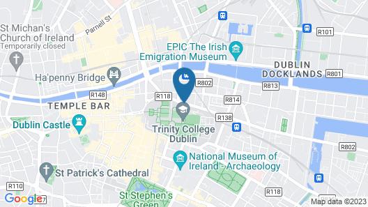 Trinity City Hotel Map