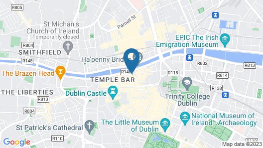 Temple Bar District Apartments Map