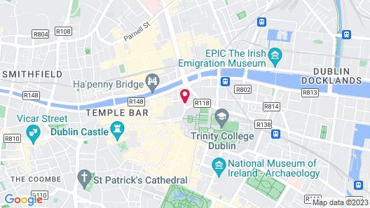 The Westin Dublin Map