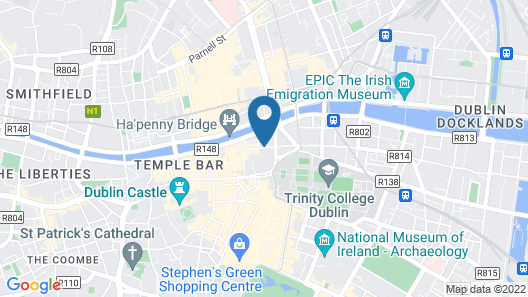 Temple Bar Inn Map