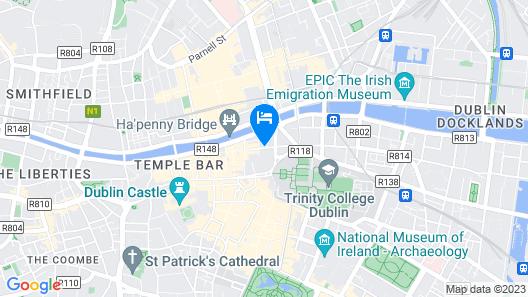 Temple Bar Inn Map