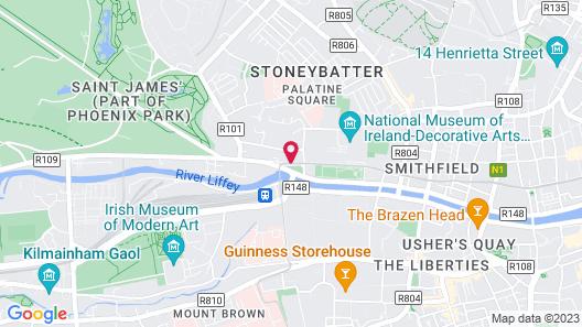 Ashling Hotel Dublin Map