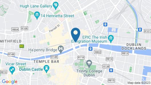 Wynn's Hotel Map