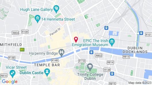 Moxy Dublin City Map