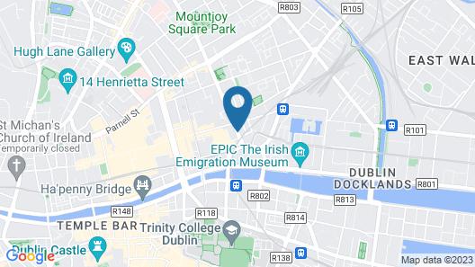 Anchor House Dublin Map
