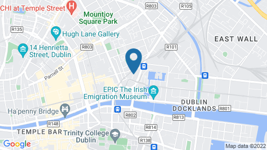 Jacobs Inn - Hostel Map