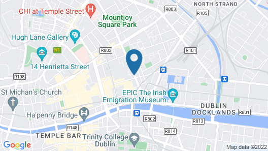 Avondale House Dublin - Guesthouse Map