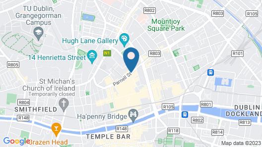 Jurys Inn Dublin Parnell Street Map
