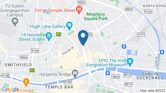 Hotel Riu Plaza The Gresham Dublin Map