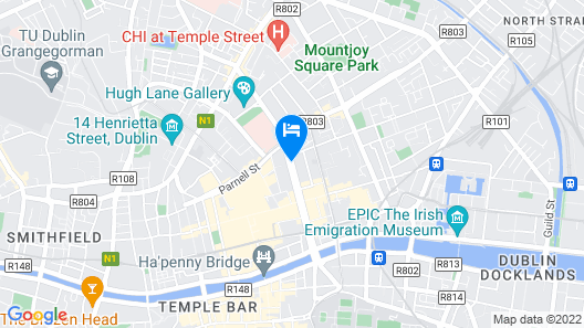 Hotel Riu Plaza The Gresham Dublin Map