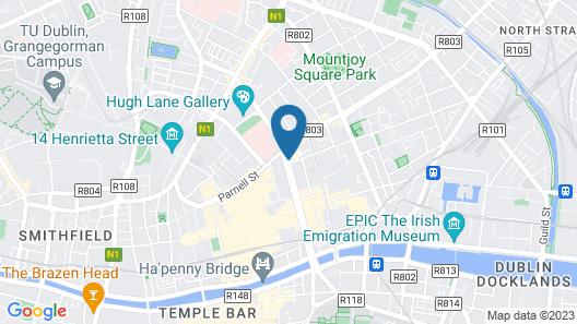 Holiday Inn Express Dublin City Centre, an IHG Hotel Map
