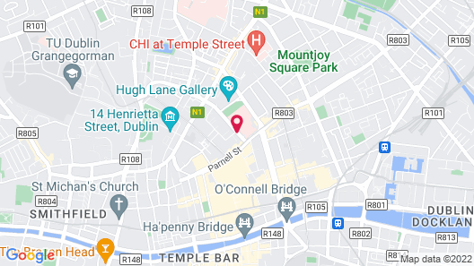 Parnell Square Apartments Map