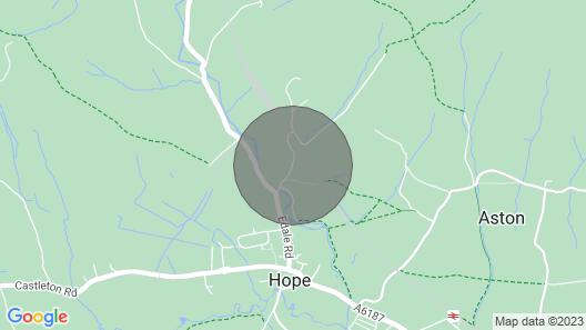 Peak District Shepherds Hut With Incredible Views Map