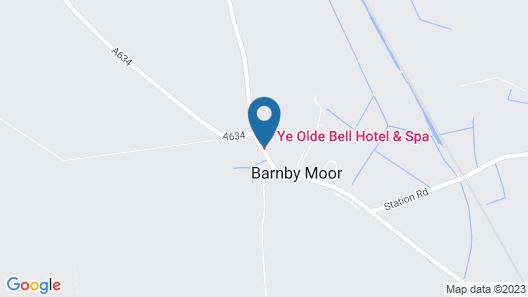Ye Olde Bell Hotel & Spa Map